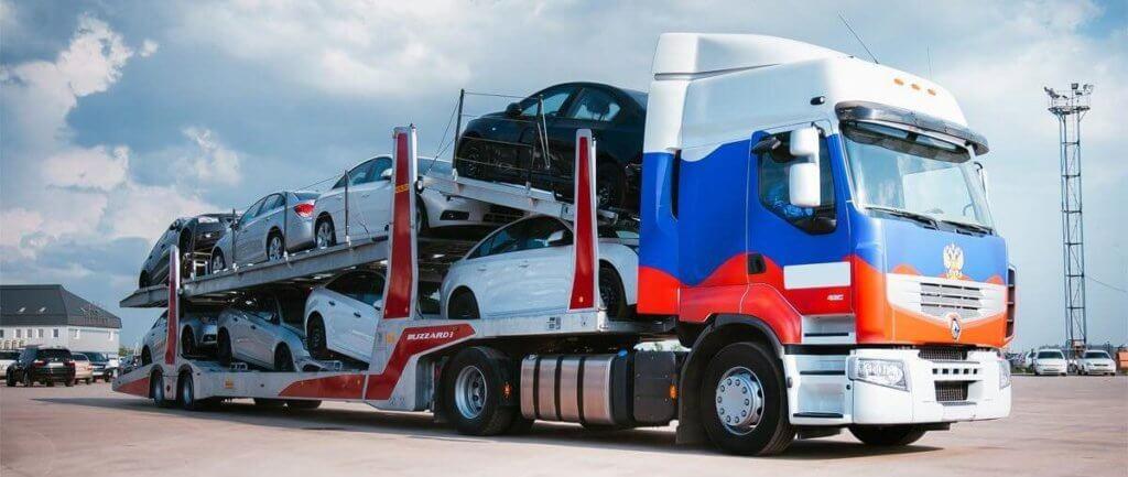 Доставка автомобиля из Москвы
