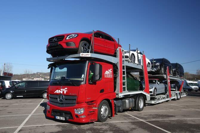Перевозка по России автотранспорта
