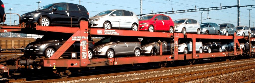 Отправка авто ЖД транспортом